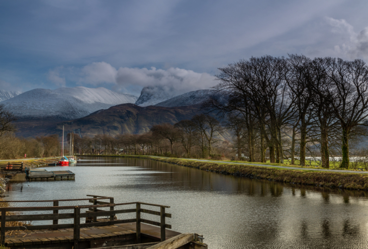 caledonian canal fort william