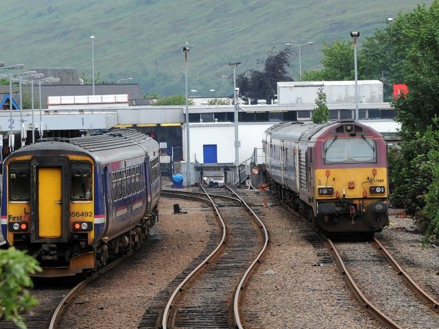 Fort William Train Station